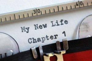 My new life chapter one concept for fresh start