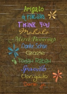 thank you in different languages Small