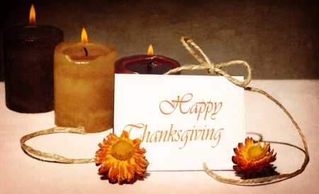 Thanksgiving holiday greeting card