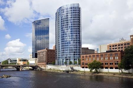 Architecture of Grand Rapids, Michigan, USA