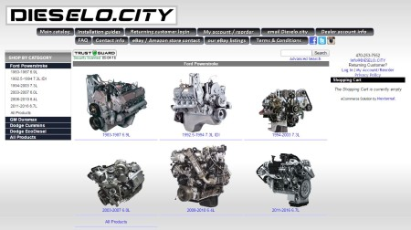 Ray's Diesel Ford Engine Website