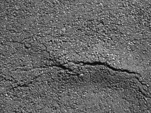60312252 - old worn and cracked asphalt with cracks