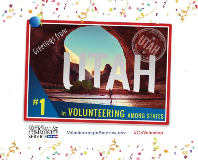 Utah No 1 Volunteer State 2015 Survey Published November 2016