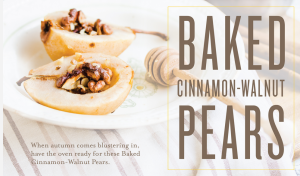 YL Cinnamon Pear Recipe