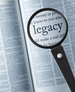 "46020395 - legacymagnifying glass on the ""legacy"" in dictionary"