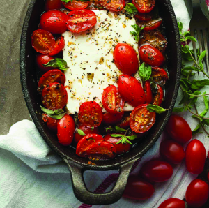 Baked Tomato and Feta