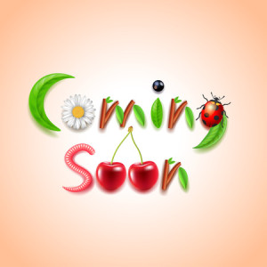 40953245 - coming soon nature concept realistic vector background