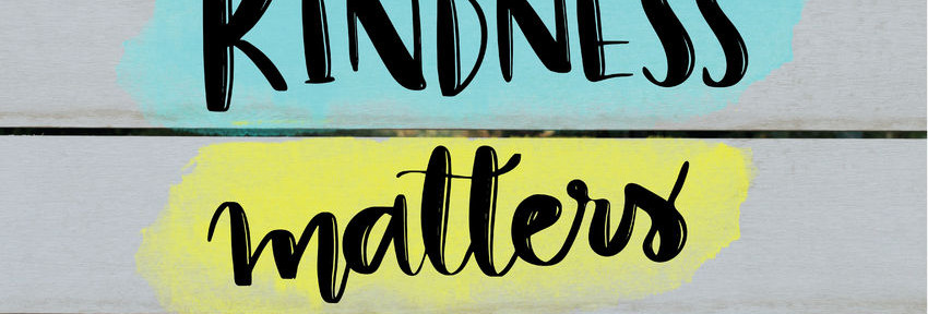 65230287 - kindness matters inspirational message on grey wooden background