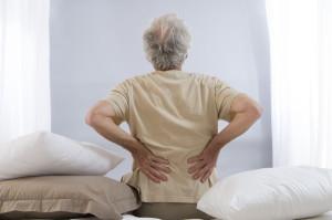 45152378 - back ache senior man