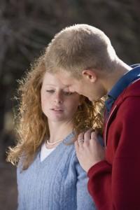 7208893 - man comforting a woman