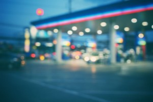39453086 - blurred of gas station
