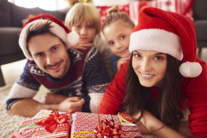 64875442 - christmas time spent with family
