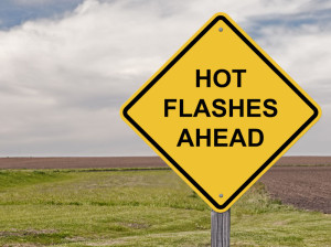 36497750 - caution sign - hot flashes ahead