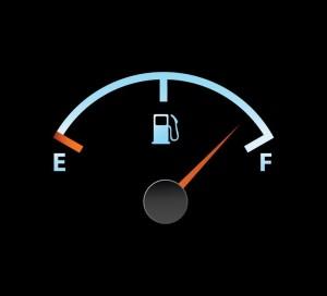 4045482 - gas full meter in blue colors