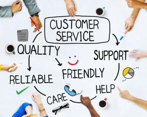 35337807 - group of people and customer service concepts