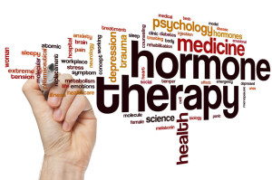 42848197 - hormone therapy word cloud concept