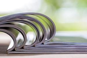 46736186 - stack of magazines
