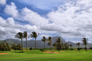 24774825 - golf course in mahaulepu trail near  poipu, kauai