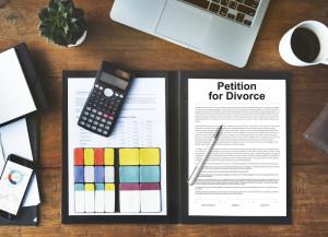 63056719 - petition divorce arguing conflict despair breakup concept