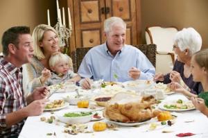 18735751 - multi generation family celebrating thanksgiving