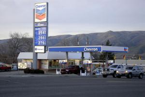 cheron gas station